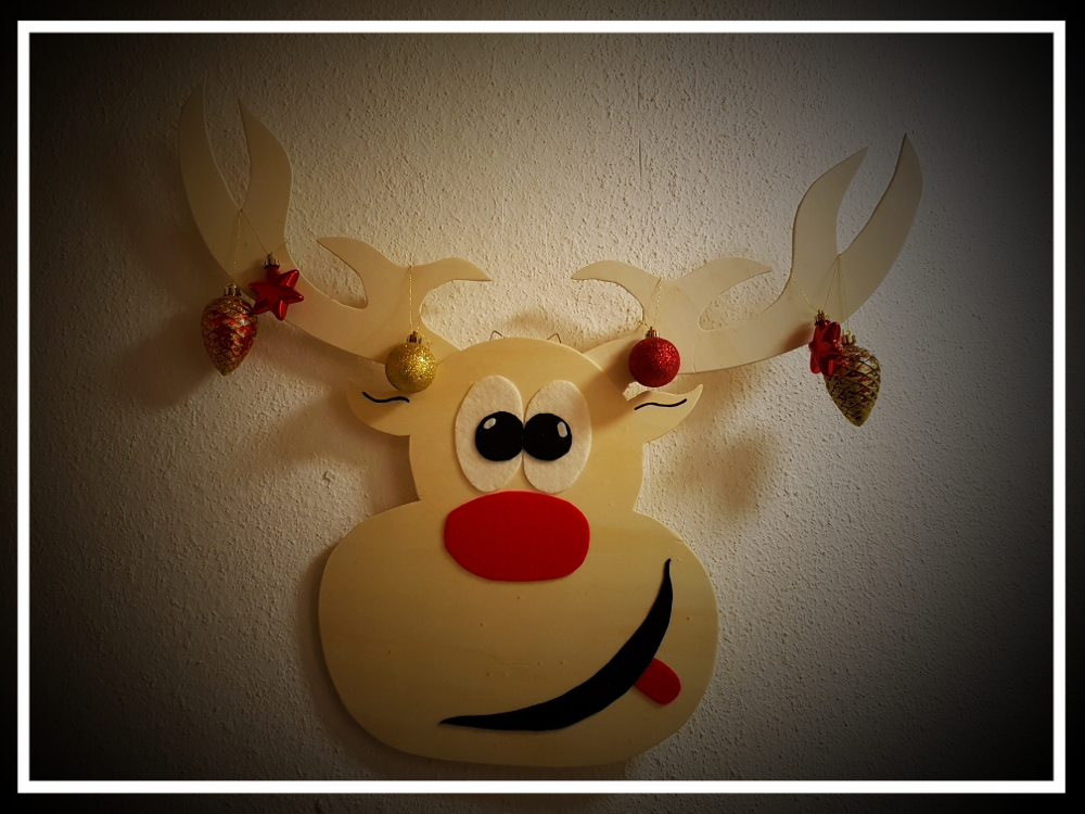 Rentier Rudolf an der Wand :D
