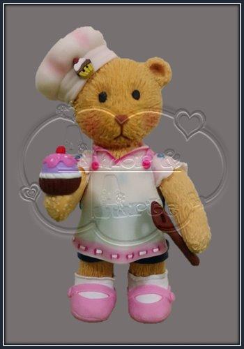 TEDDY BEAR CUP CAKES