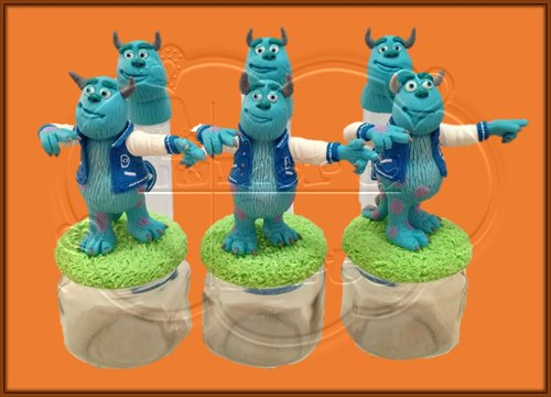 FRASCOS DECORADOS SULLIVAN, MONSTER INC.