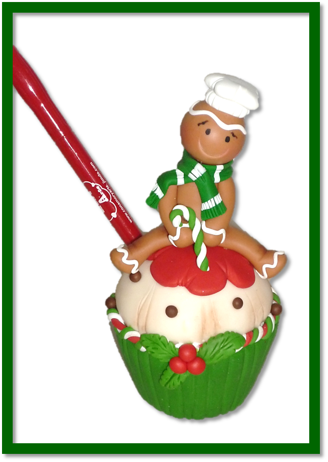 CUP CAKE GENGIBRE PORTA LAPICERO