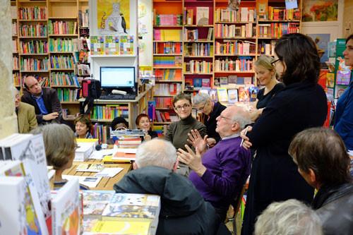 rencontre avec l'auteur vendredi 15 novembre 2013 à la librairie L'Arbre à lettres Mouffetard