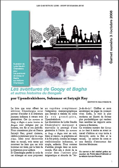 Les aventures de Goopy et Bagha