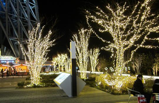 東京スカイツリータウン イルミネーション