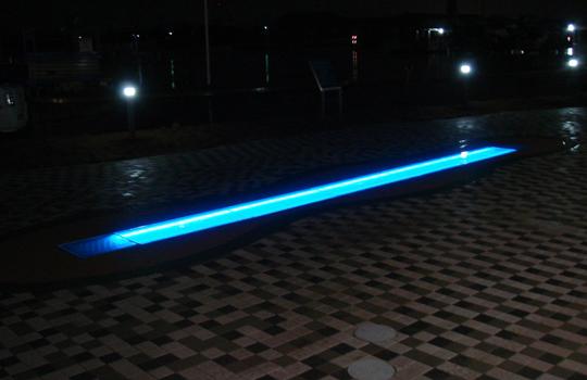 イオンモール大牟田 噴水