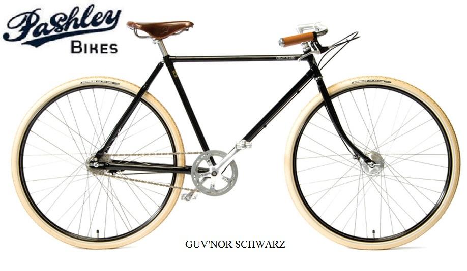GUV\'NOR SCHWARZ - Pashley Bikes