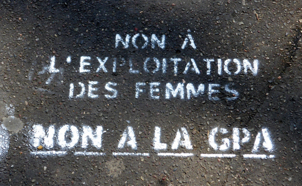 "Boulevard St-Germain, Abgang zur Métrostation ""Odéon"""