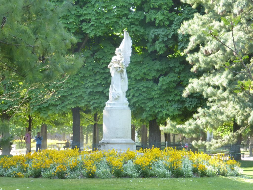 Blumen und Monumente