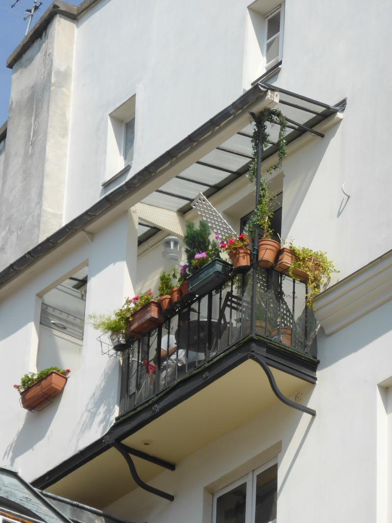 Rue de l'Odéon - hoch oben