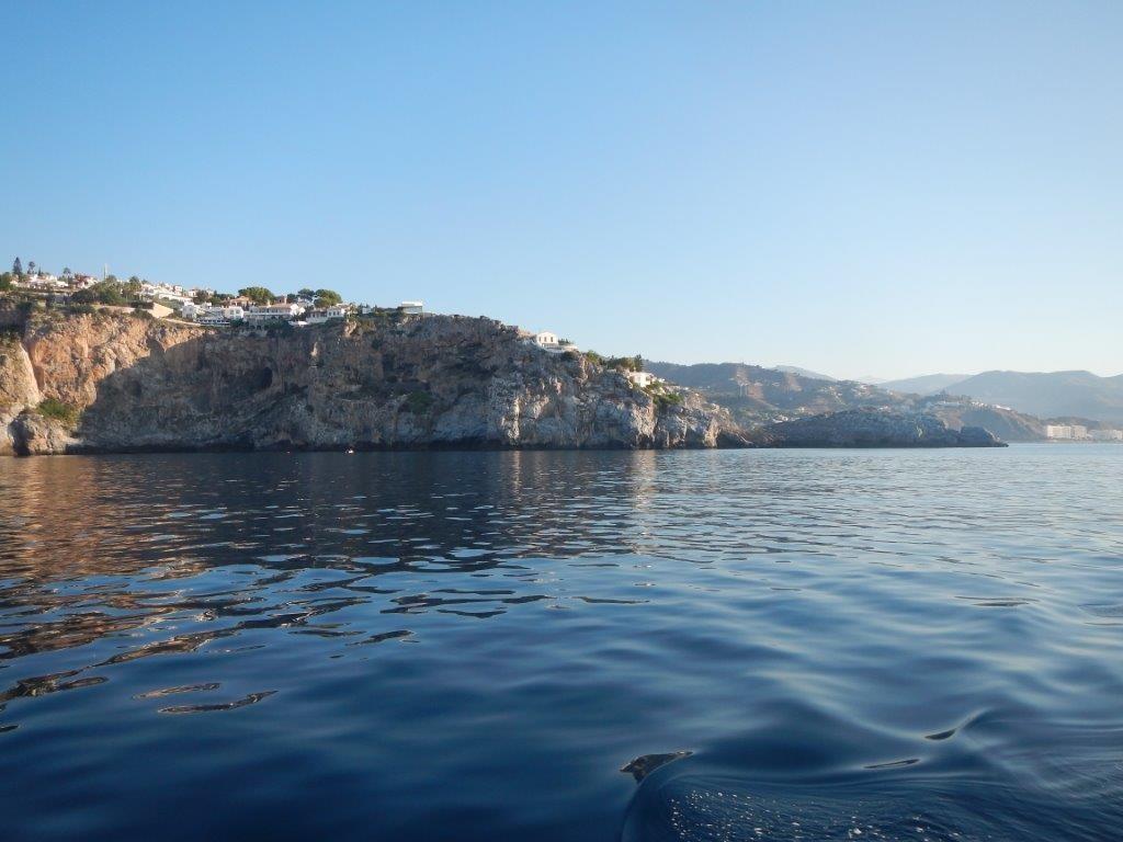 Spanien vom Wasser aus