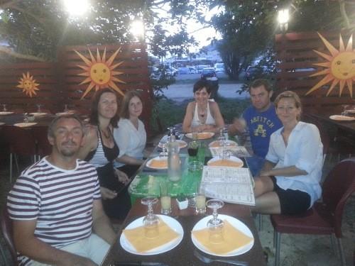 Wir haben schon toll gekocht, aber die Restaurants auf Korsika sind auch spitze!
