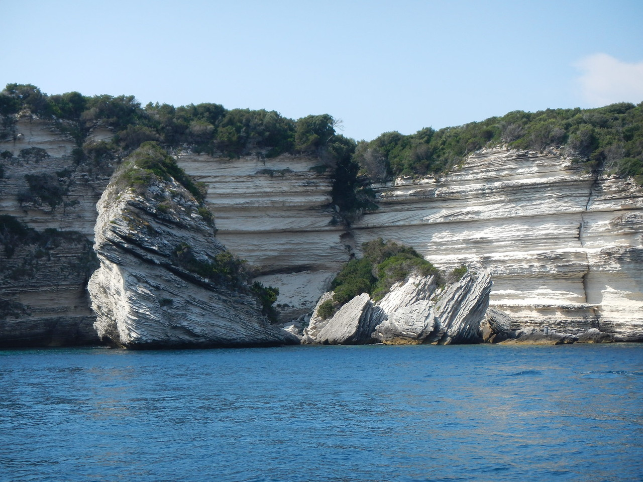 Kreidefelsen vor Bonifacio, die spektakuläre Südküste von Korsika