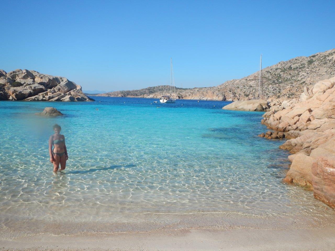 Der Strand auf Caprera ist wohl einer der schönsten der Welt
