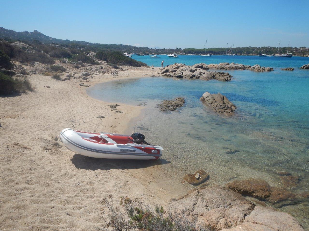 Segeltörn zu der Insel Capreira im Maddalena Archipel