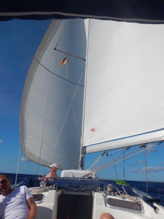 Das Finale von Menorca nach Mallorca war easy mit gutem Segelwind