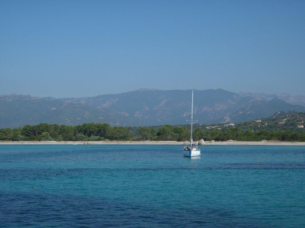 San Cipriano auf Korsika, mitsegeln ab Sardinien, der Mittelmeer Segeltörn für Singles