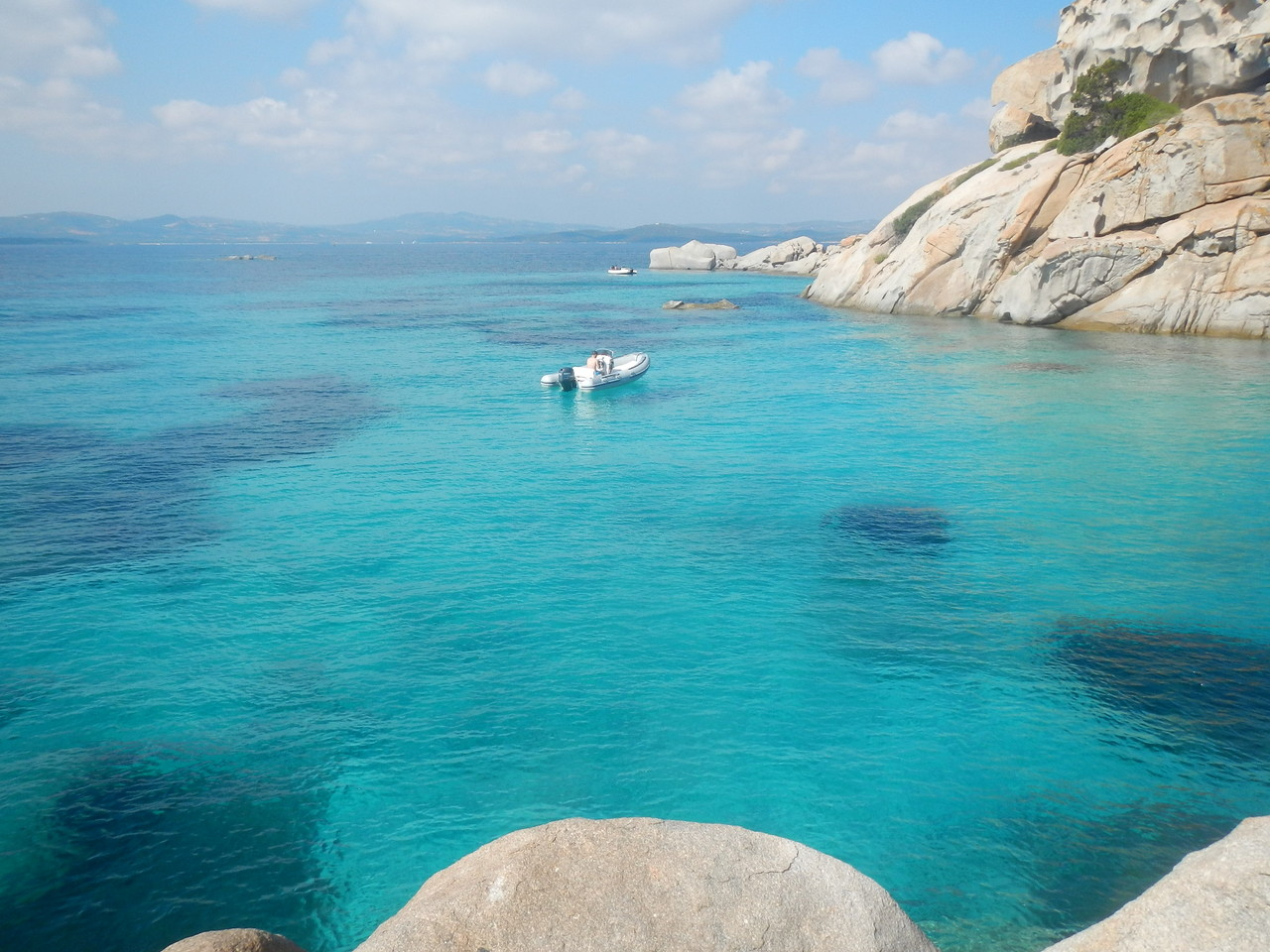Spargi im Maddalena-archipel, mitsegeln Sardinien Korsika