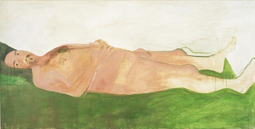 "Eva Hradil, ""6.9.2005"" aus ""Männerlandschaften"", 100 x 200 cm"