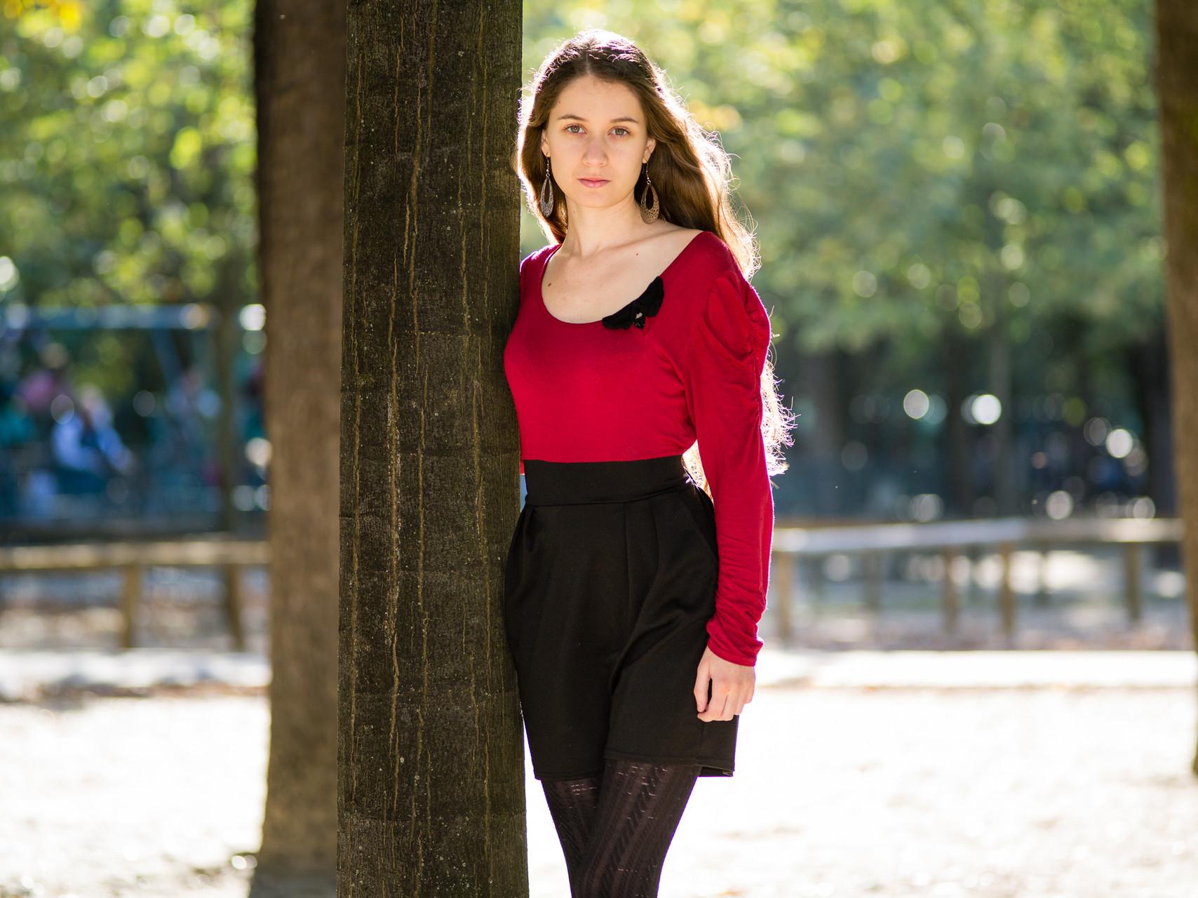 Alicia Crow, modèle, chanteuse, 2015