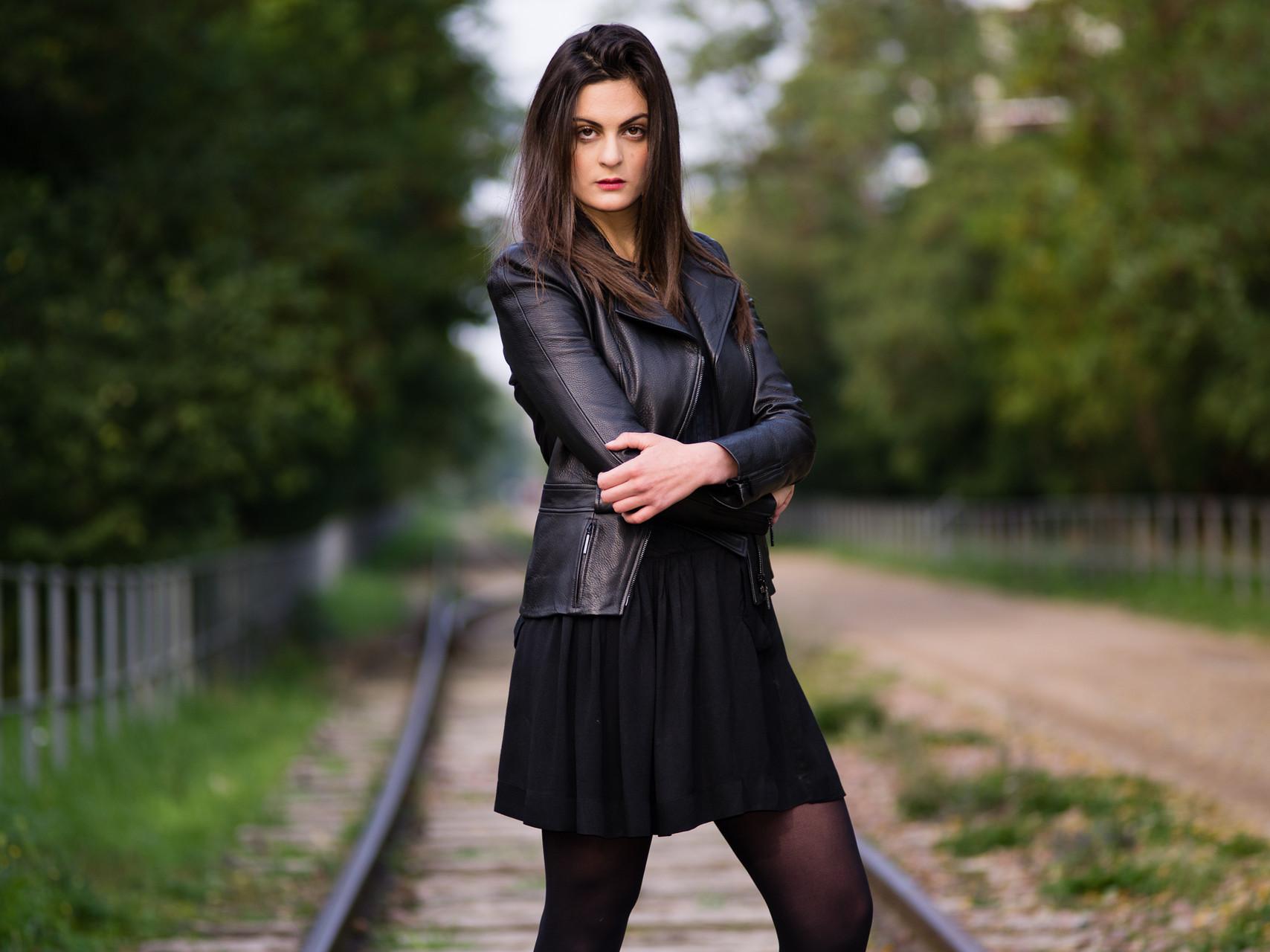 Kim Barrouk, actrice, 2015