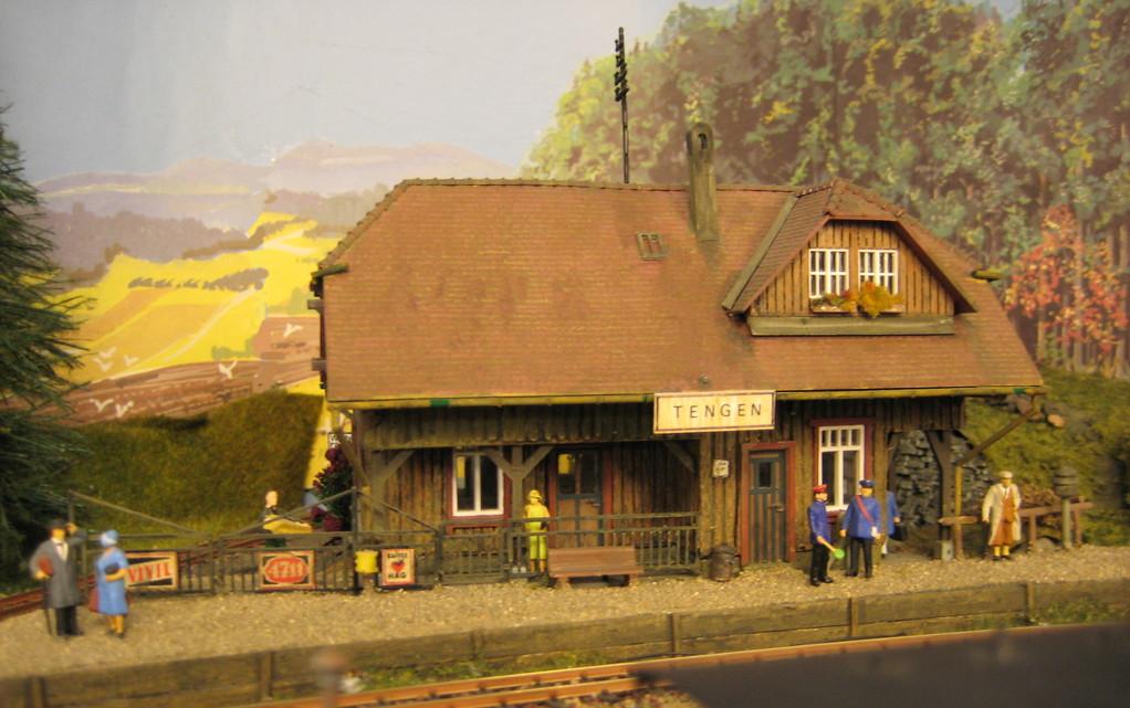 Der Ort Tengen liegt bereits auf schwarzwälder Gebiet, wie sein Baustil auch verrät.