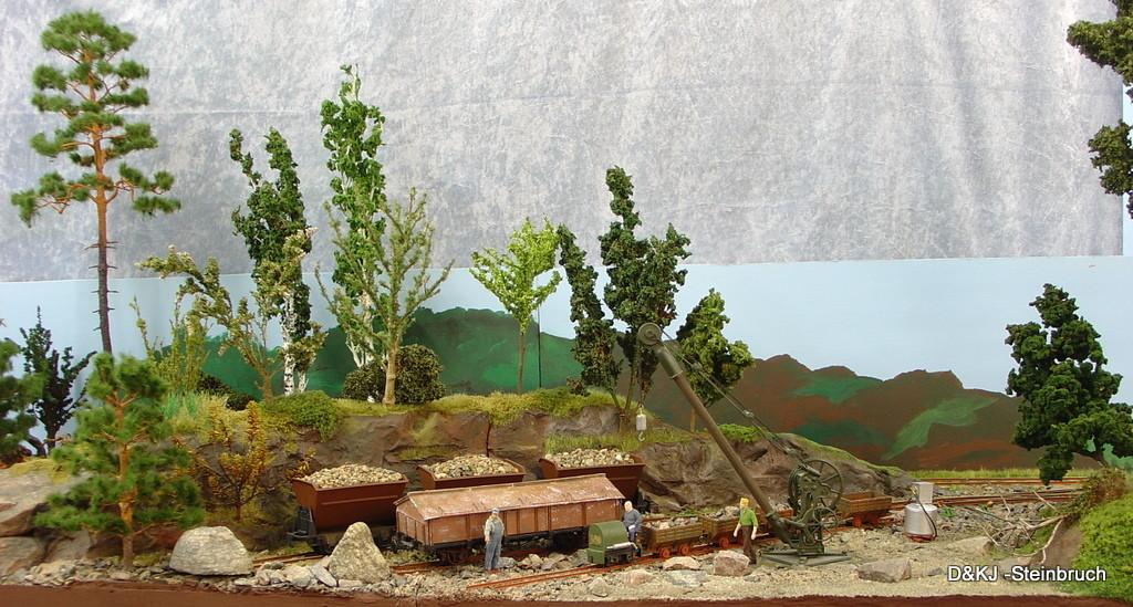 der komplette Steinbruch (hier noch mit dem alten Hintergrund)