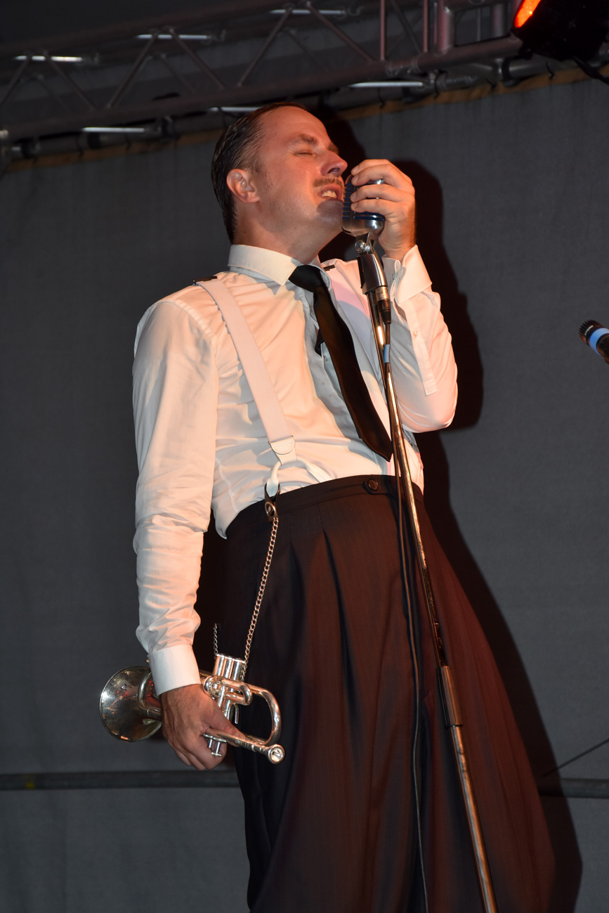 The Swingaroos & The Pocket Big Band - Sommerszene Mistelbach - August 2017