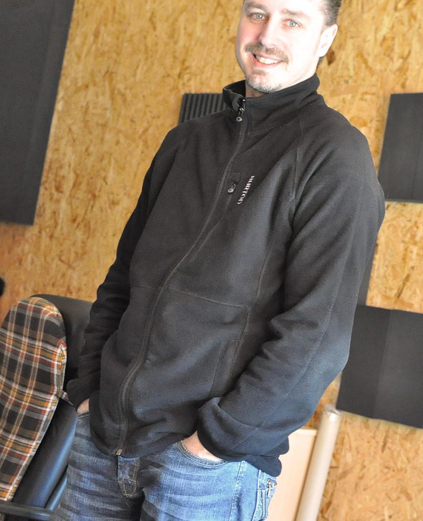 Markus Jimi Ivan - CRÆSH recording Full House - concrete studio, Göllersdorf