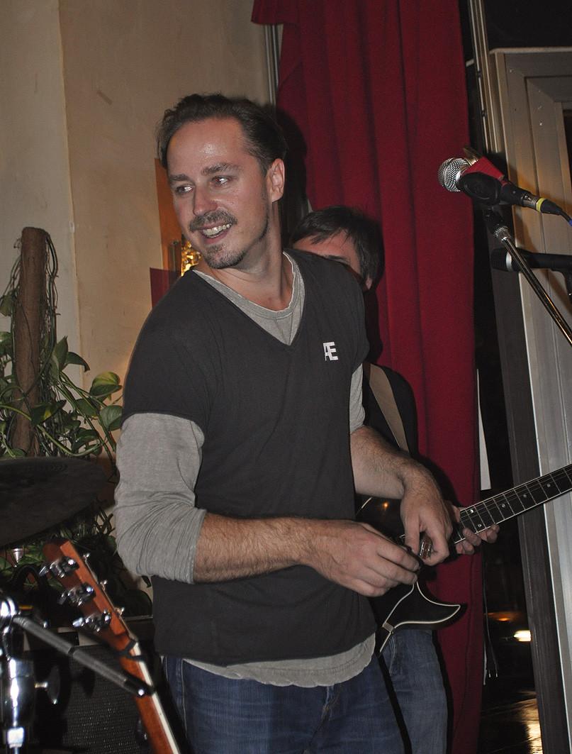 CRÆSH Live im Cafe Industrie - Markus Jimi Ivan