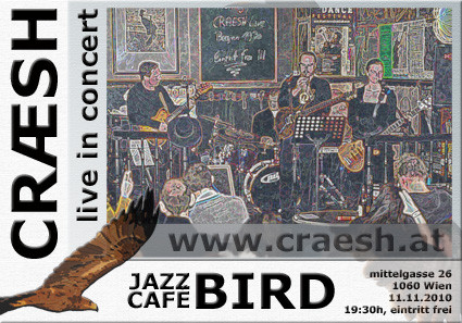 flyer jazzcafe bird 11.11.