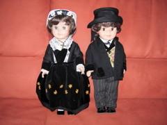 Costumes Sarzeautins, confectionnés par ma Grand-Mère Simone