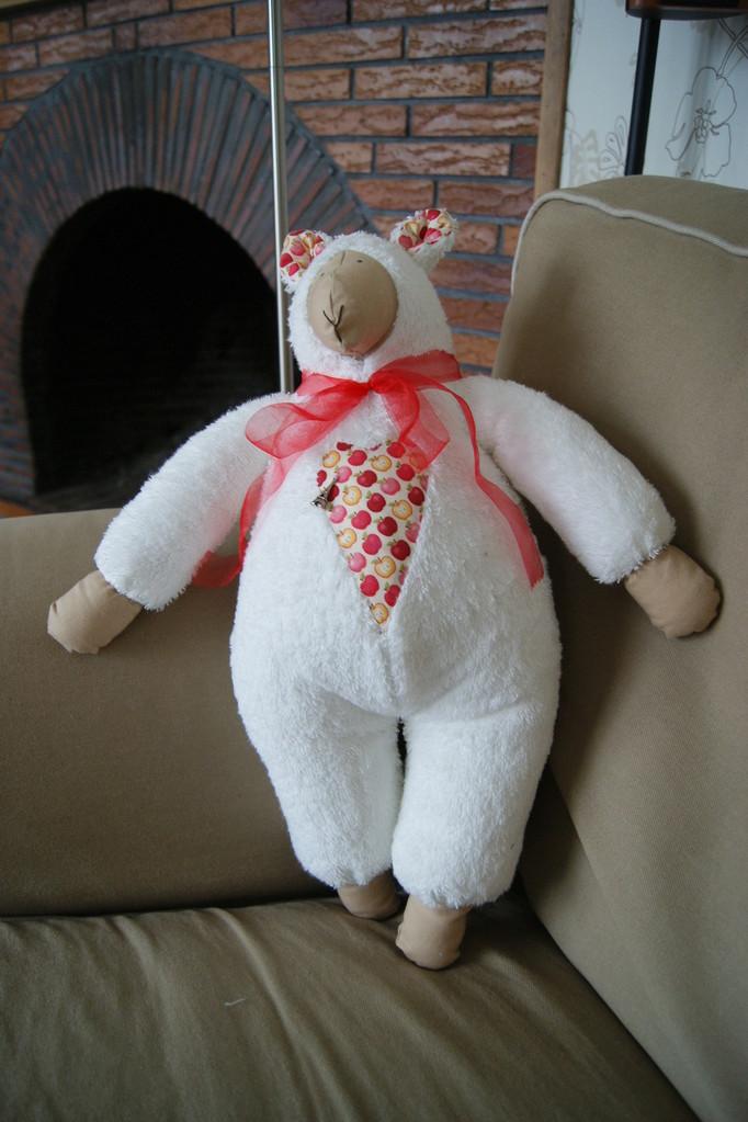 "mouton ""Wilko"" offert à Anne"