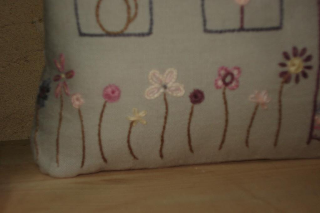 Petites fleurs en bas