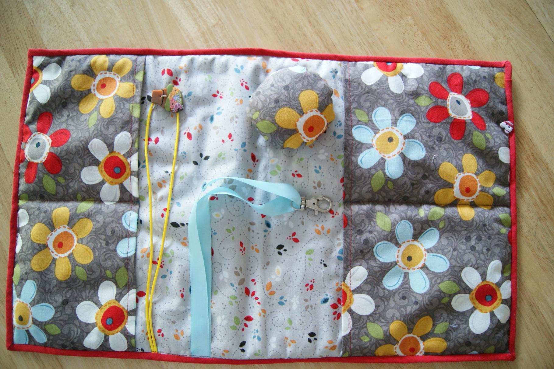 Version offerte à Anne pour son anniversaire. Tissus néo-zélandais.