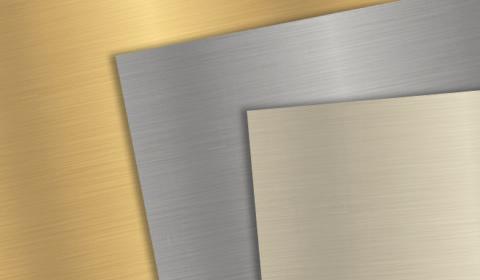 Gravurmaterial aus Metall kaufen für Gravuren