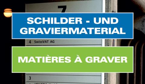 Gravurmaterial kaufen in der Schweiz