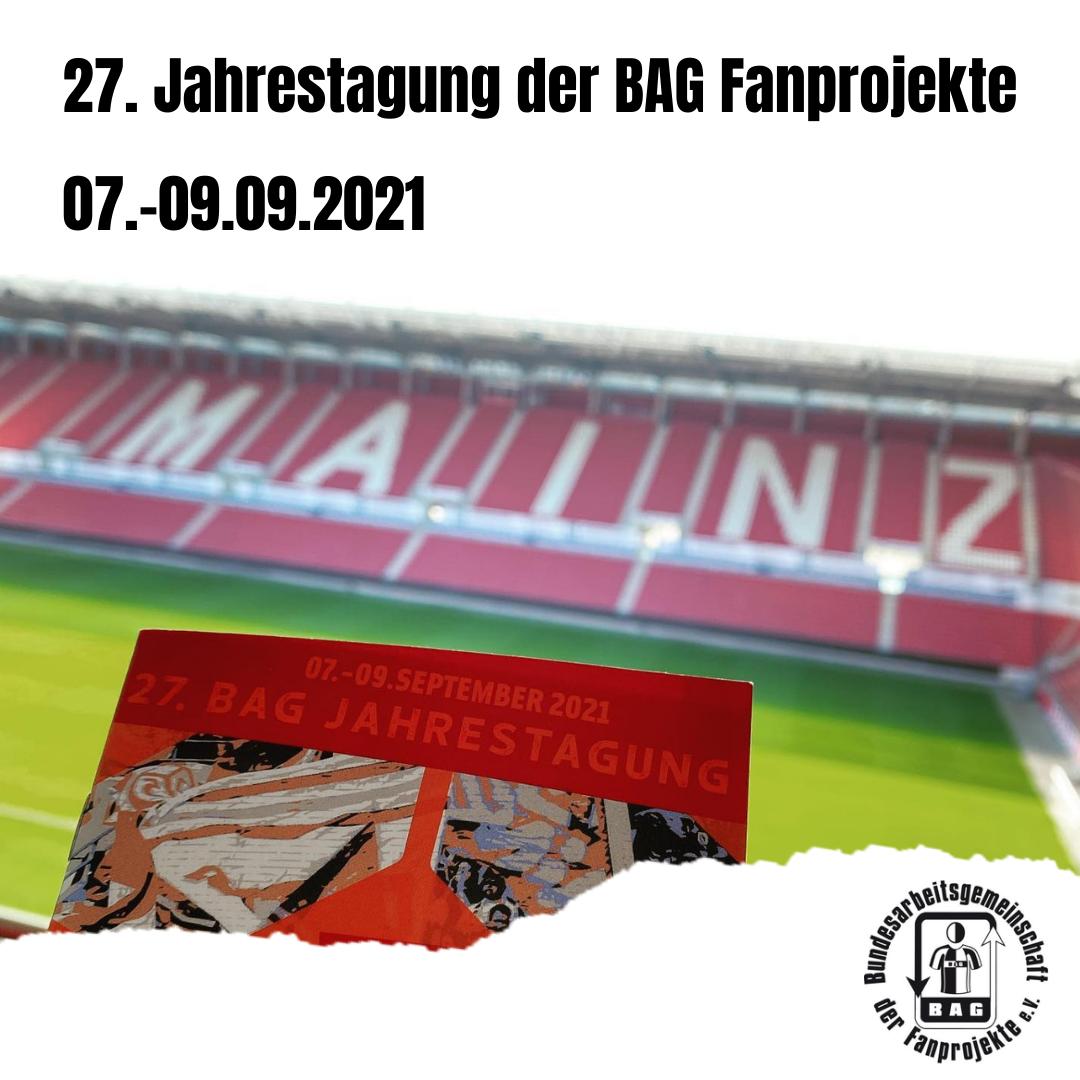 BAG Jahrestagung in Mainz
