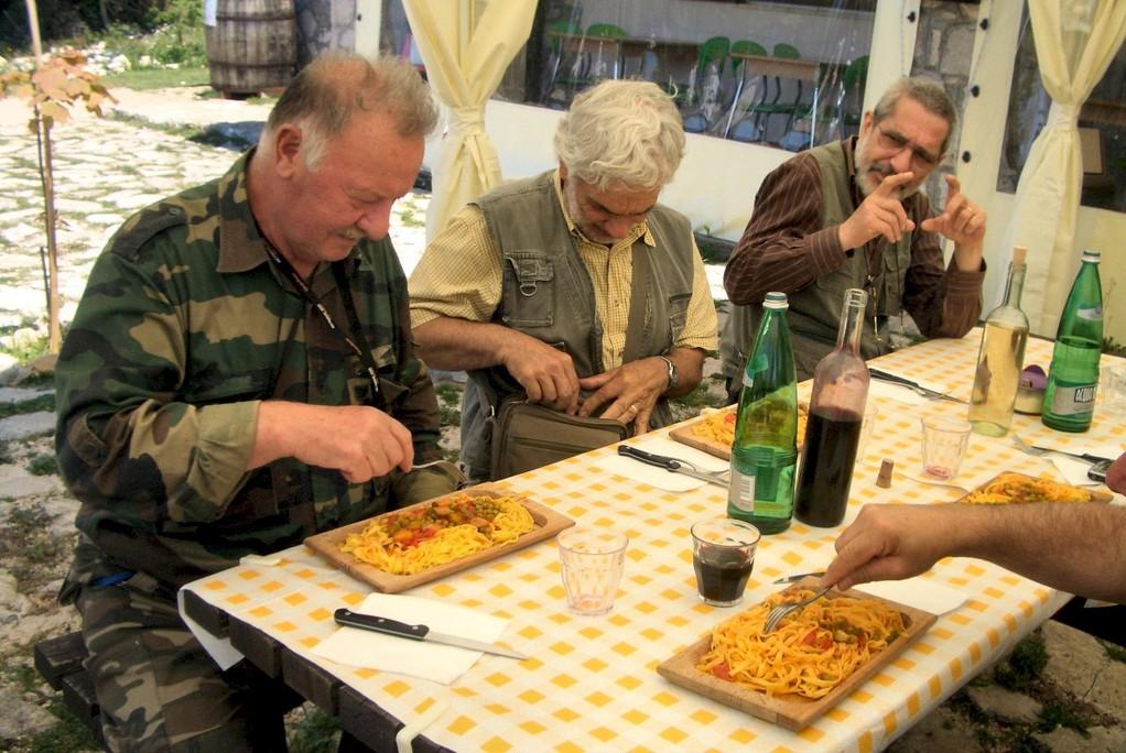 Pausa pranzo all'Ostello