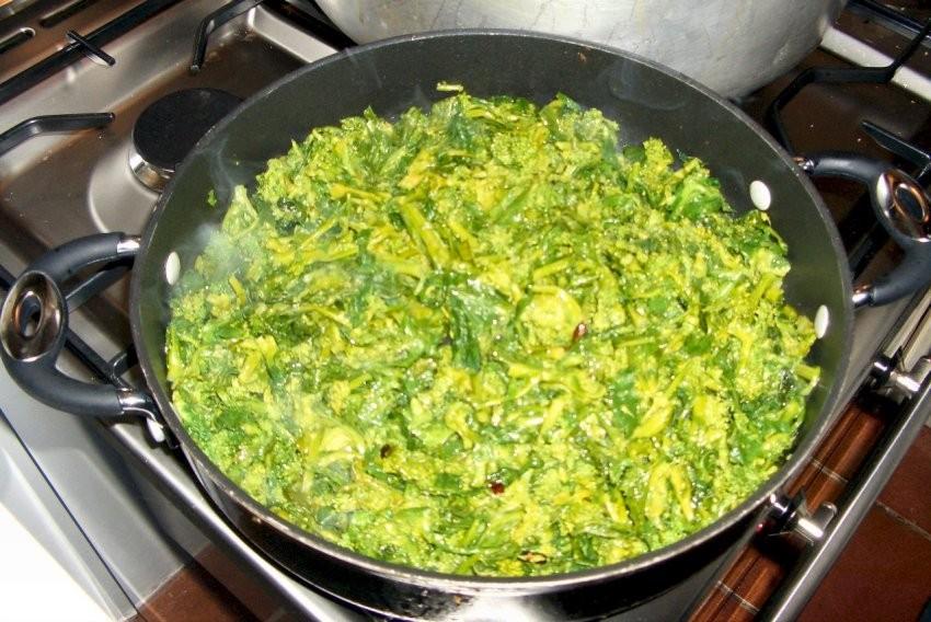 i broccoletti ripassati in padella