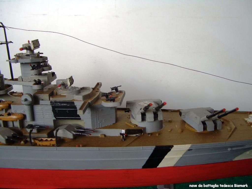 """nave da battaglia """"Bismark"""" WW2"""