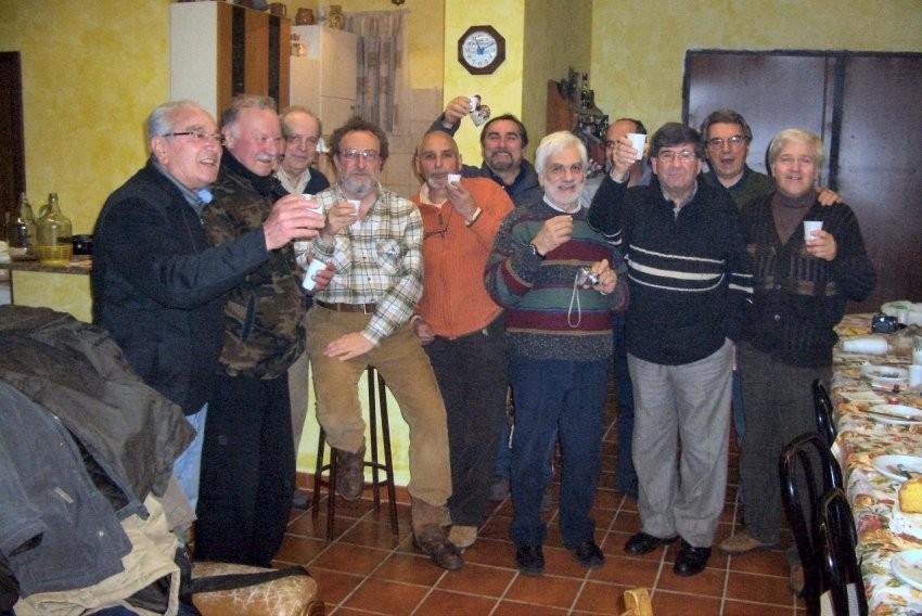 a Casa di Angelo cena tra G.M.P. e FunghiFloraeFauna