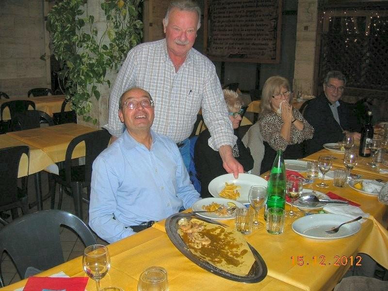 cena sociale natalizia del GMP del 16 dicembre 2012