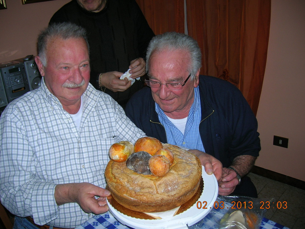 Festa di compleanno di due settantunenni