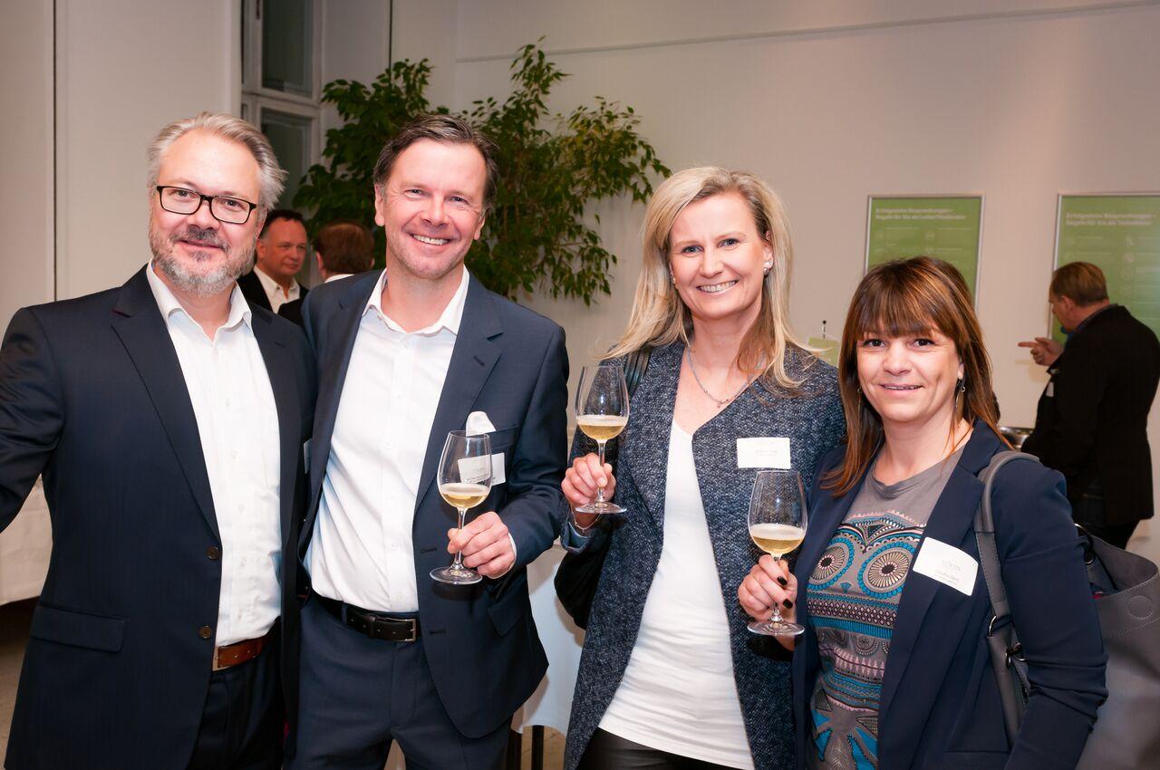 Präsident Michael Baumgartner mit Gästen