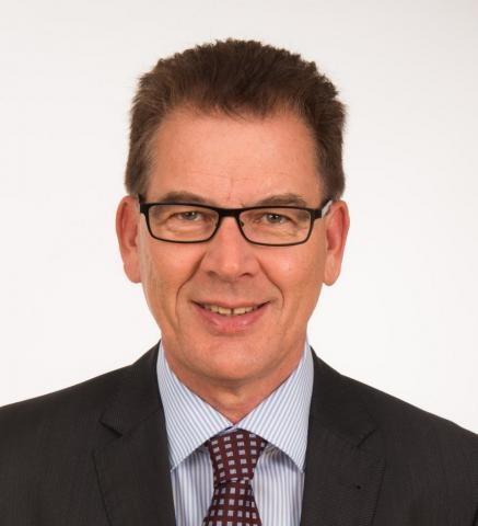 Bundesminister Gerd Müller (CSU)