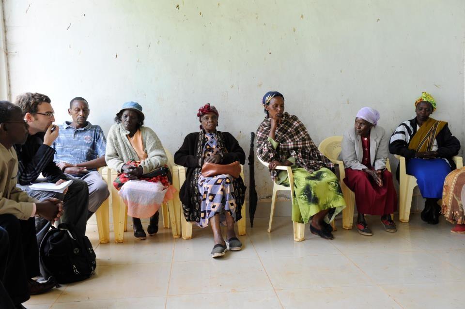 In Murang'a / Kenia. Foto: Jörg Böthling