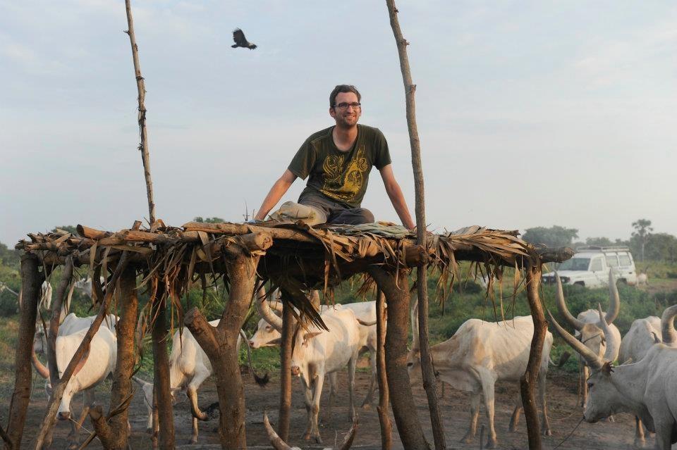 Bei Rumbek / Südsudan; Foto: Jörg Böthling