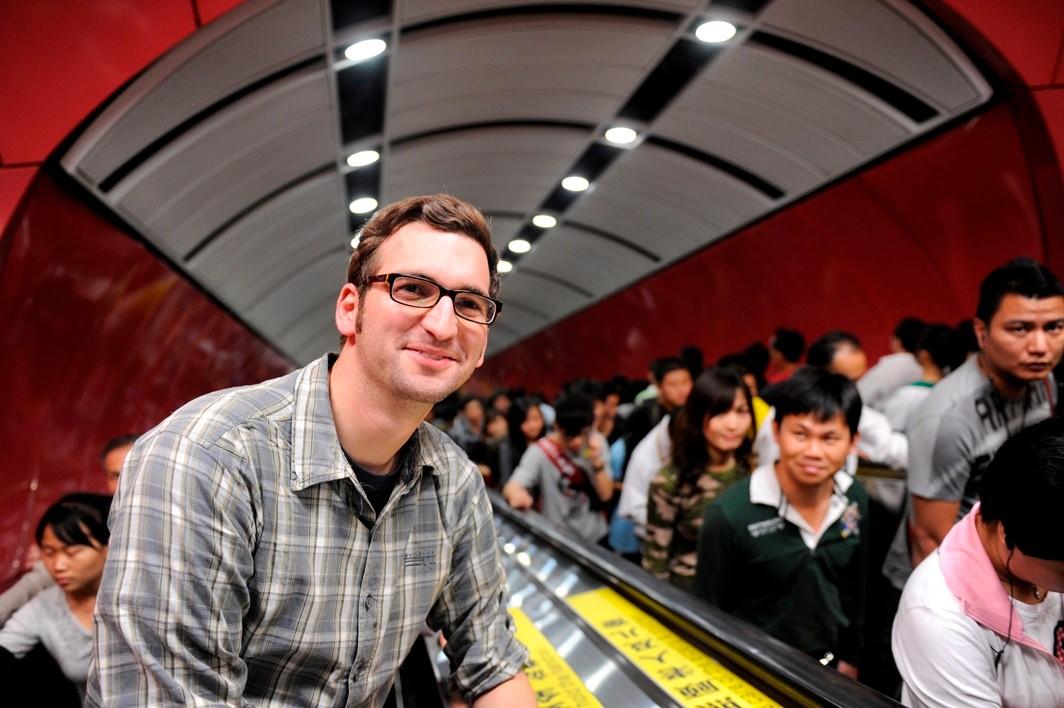 In Guangzhou / China; Foto: Jörg Böthling