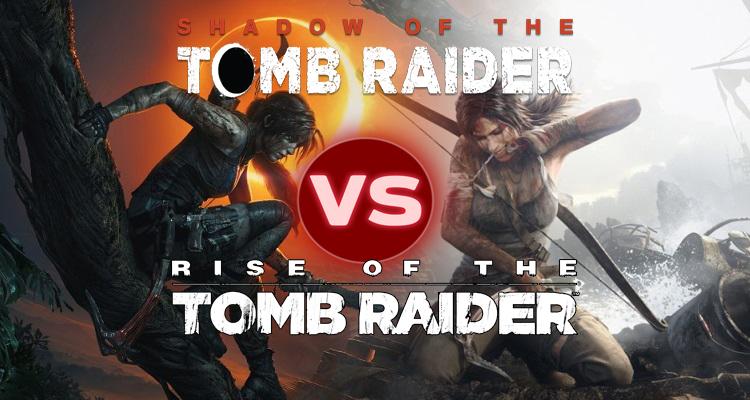 Shadow of the Tomb Raider Bildervergleich mit dem Vorgänger zur Grafik