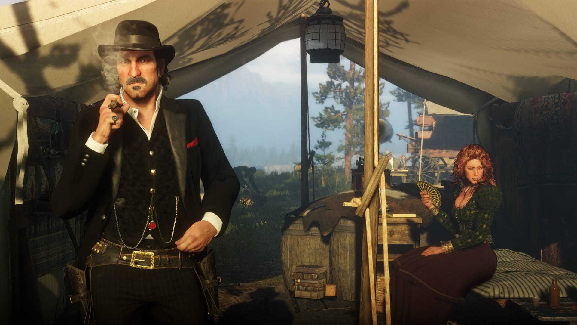 Neue Screenshots zu Red Dead Redemption 2 zeigen Tierwelt, Open World und Charaktere. Bild 10 - Quelle: Rockstar Games
