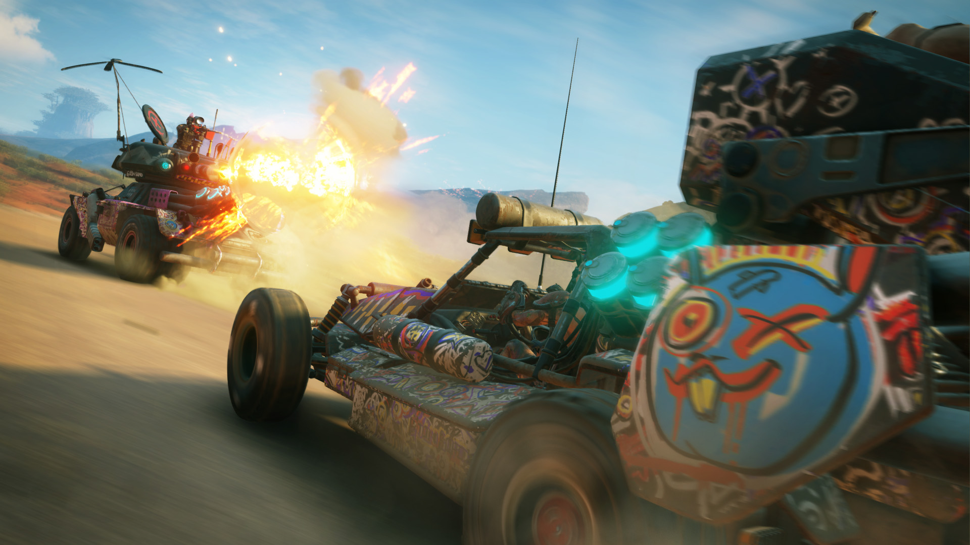 RAGE 2 Gameplay Screenshot 1. Bild: Bethesda